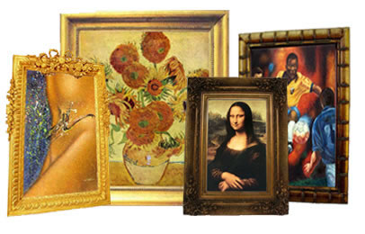 Art Gallery Oil Paintings Reproductions